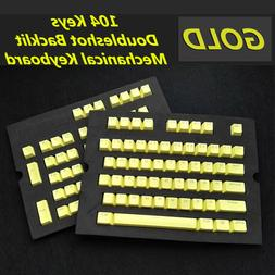 104 Keys PBT Keycap KeyCaps Backlit Doubleshot for Cherry MX