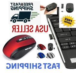 2.4GHz Wireless Optical Mouse Mice & USB Receiver 2000DPI Fo