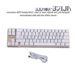68-key Mini mechanical keyboard desktop laptop cherry game g