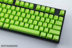 abs double shot keycaps apple green cherry