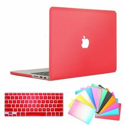 """BRAND NEW Mac Book Air  13"""" CANDY APPLE RED w/cut-out cover"""