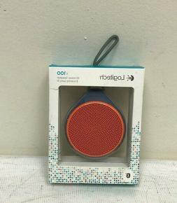 Brand NEW--Logitech X100 Mobile Wireless Bluetooth Speaker w
