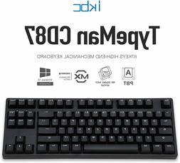 iKBC CD87 v2 Mechanical Ergonomic Keyboard with Cherry MX BR