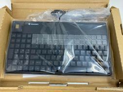 Cherry Pos Biometric Keyboard USB Fingerprint Touchpad G86-6