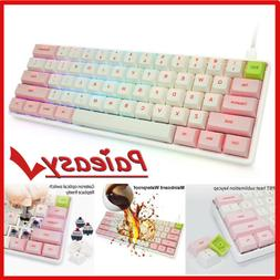 Computer Desktop Mechanical Gaming Keyboard LED Light Backli