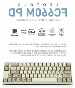 Leopold FC660M PD Mechanical Keyboard Cherry MX Double PBT W