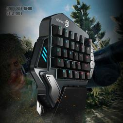 Gaming Keyboard Mechanical Red Cherry Mx Switches One-handed