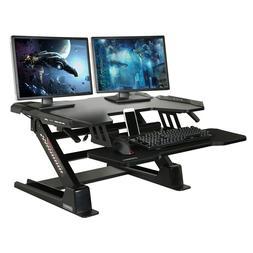"Eureka Ergonomic Height Adjustable 36"" Stand Up Desk Convert"