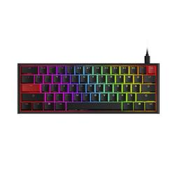 HyperX x Ducky One 2 Mini, HX Red LE 3700 IN HAND SHIPS TODA