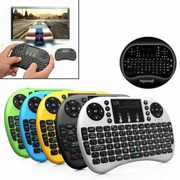 Rii i8+ 2.4GHz Mini Wireless Backlit Touchpad Keyboard w/ Mo
