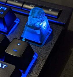 Iron Man Resin Keycap / Cherry MX Keyboard