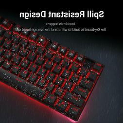 Redragon K552 RED LED Backlit Mechanical Gaming Keyboard SMA