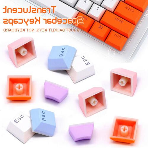 104 PBT Double shot Spacebar Keycaps for MX Switch