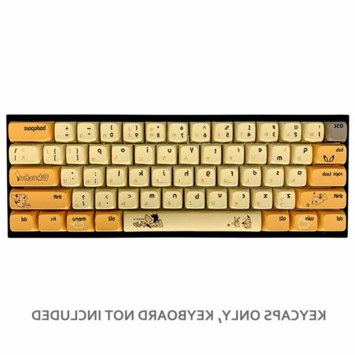 108 PBT Thick Anime XDA Profile for Cherry MX Keyboards