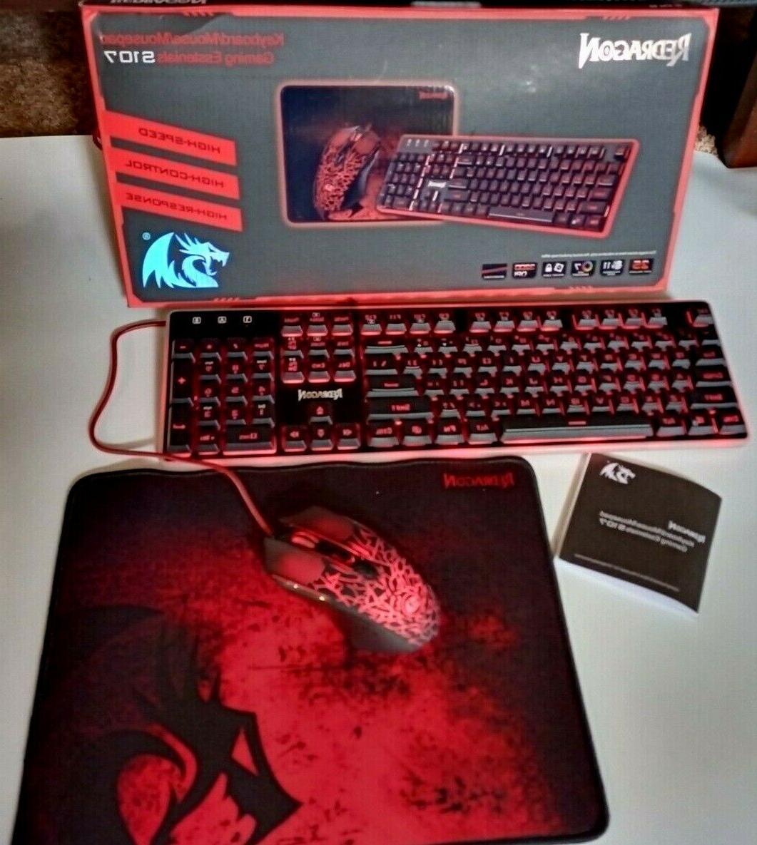 3 in 1 red dragon keyboard essentials