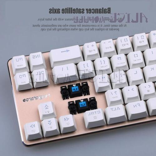 68-key Mini mechanical desktop cherry green/tea B2AM