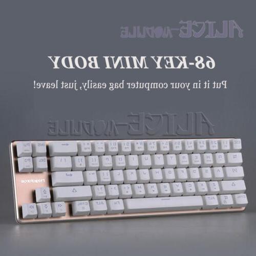 68-key desktop cherry green/tea shaft B2AM