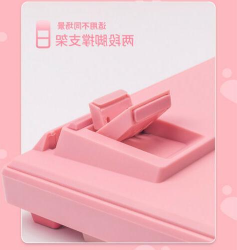 Anime Moon Keyboards Pink Keyboards 87Keys Gift