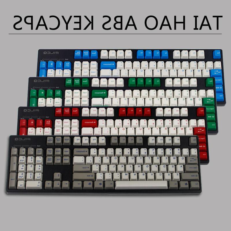 ansi 104 keys abs taihao keycap set