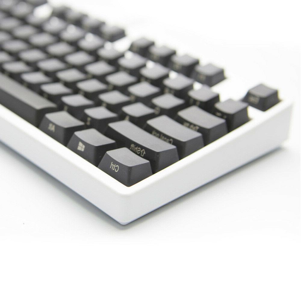 black pbt keycap set for ikbc filco
