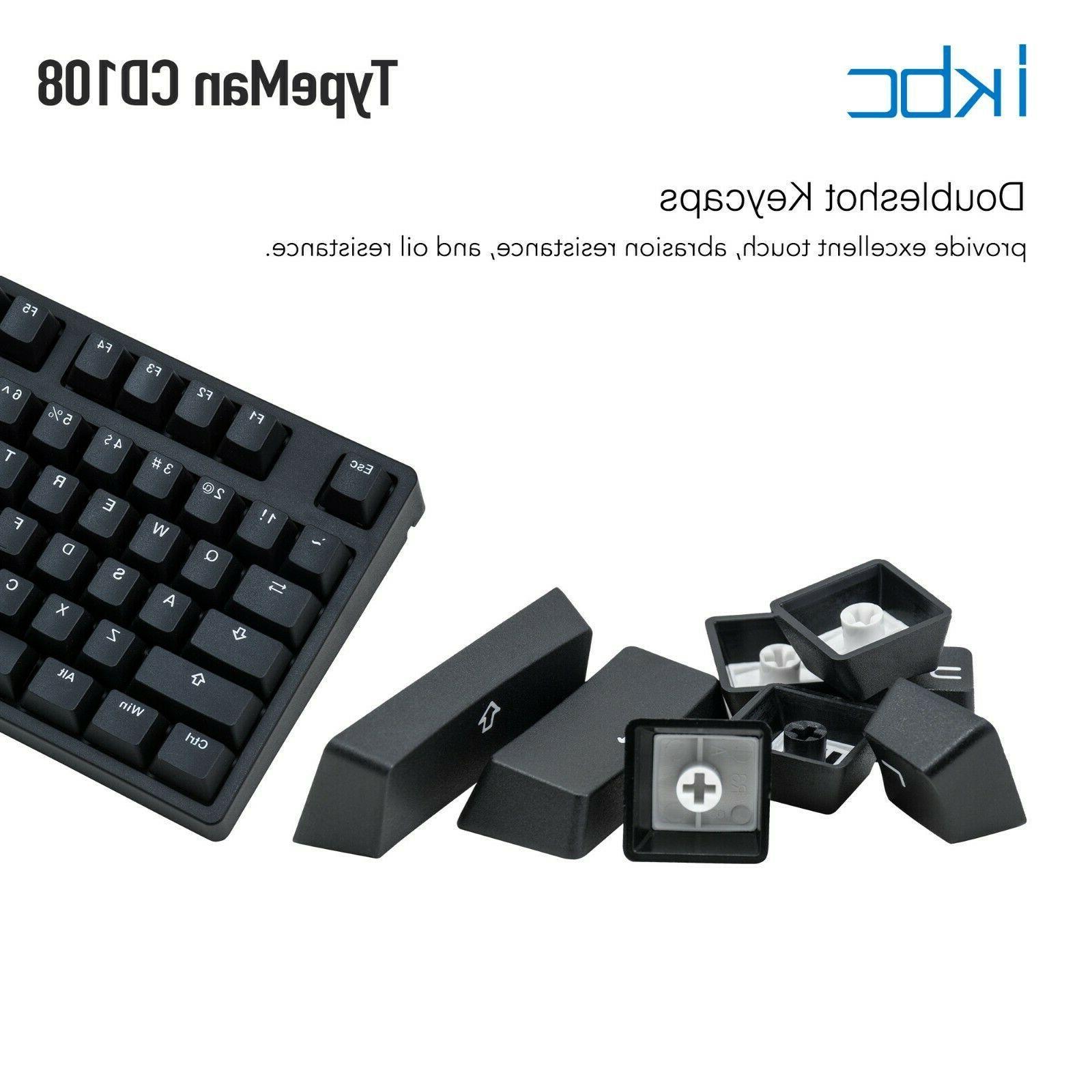 iKBC Ergonomic MX 108-Key,