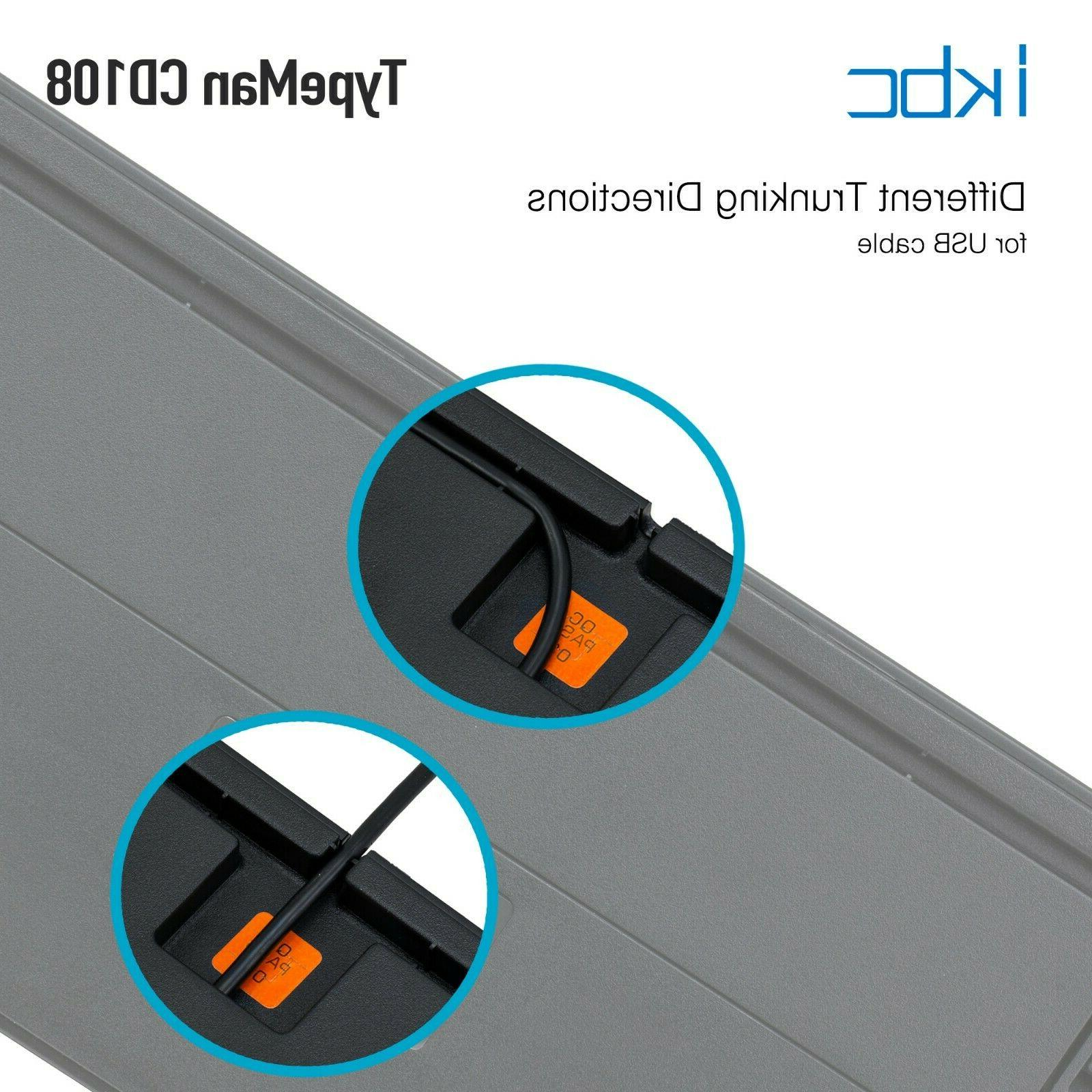 iKBC CD108 v2 Mechanical Ergonomic Keyboard MX Switch