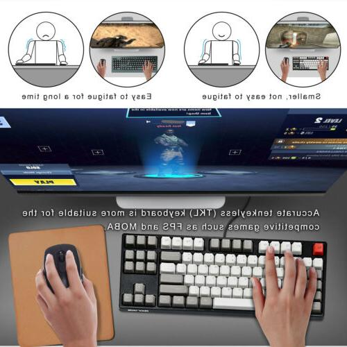 Cherry TKL 87keys Mechanical PC Keyboard New
