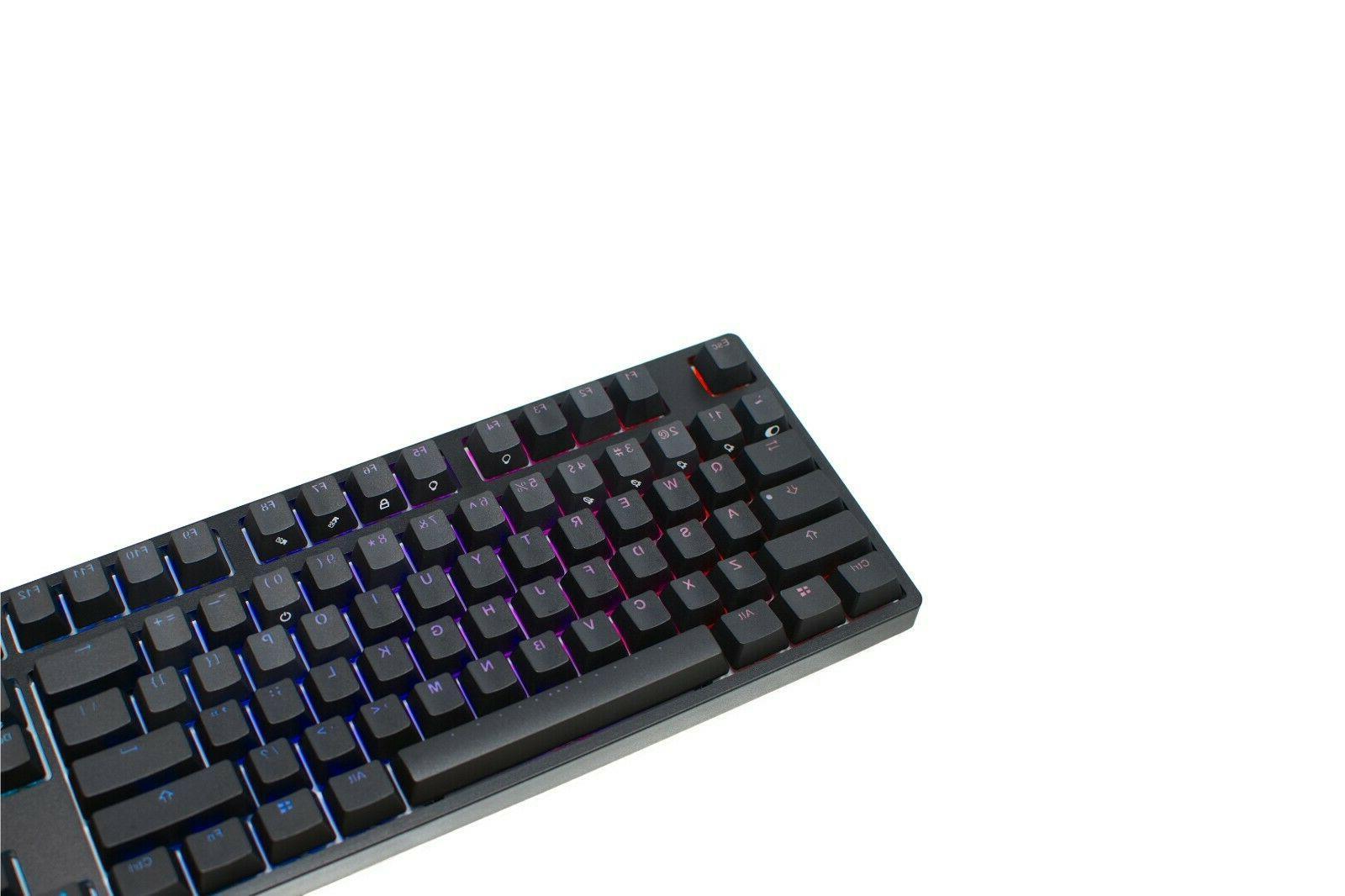 iKBC Backlit Mechanical Keyboard with Cherry Switch Tenkeyless