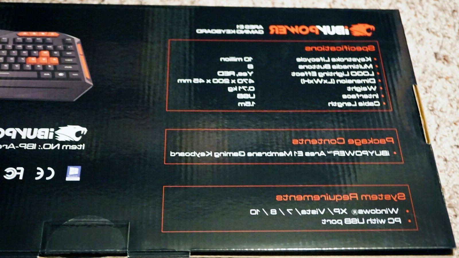 Gaming Keyboard E1 -IBuyPower-
