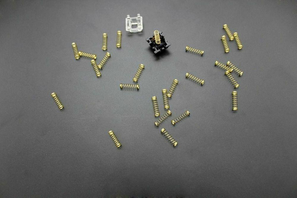 Gold-Plated Springs Cherry MX 24k