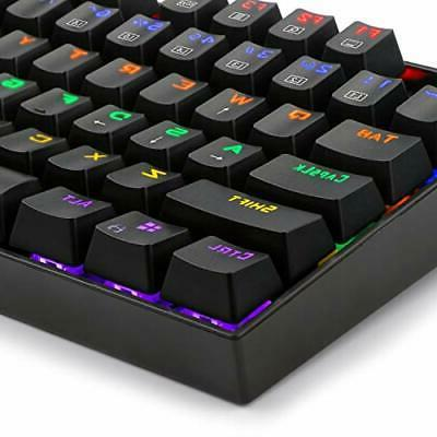 Redragon Mechanical Keyboard with MX Blue Switches Vara