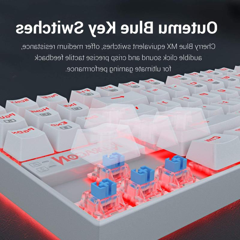 Redragon K552 Mechanical Gaming Keyboard Compact 87