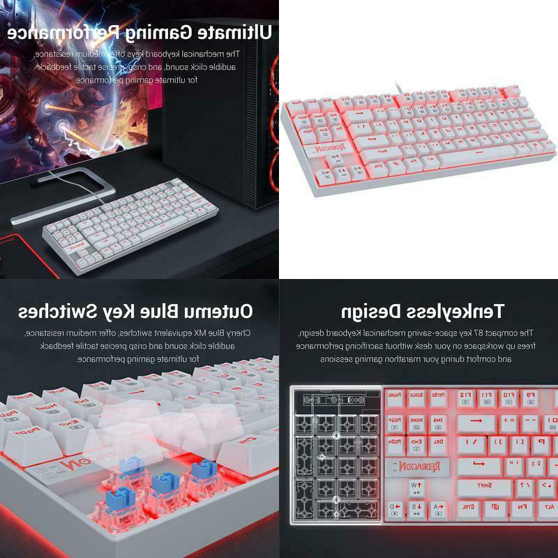 k552 mechanical gaming keyboard 60 percent compact