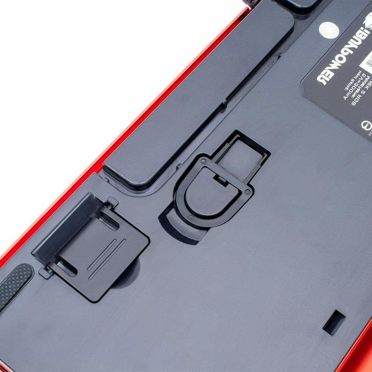 iBUYPOWER MEK 2 Red LED Backlit Keyboard USB For PC
