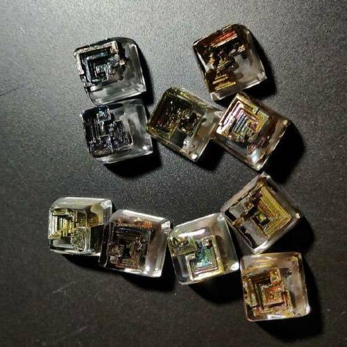 Bismuth crystal Clear Key caps MX Cherry Keyboard