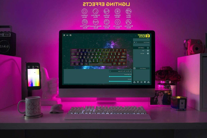 New XS61 60% Gaming RGB LEDS