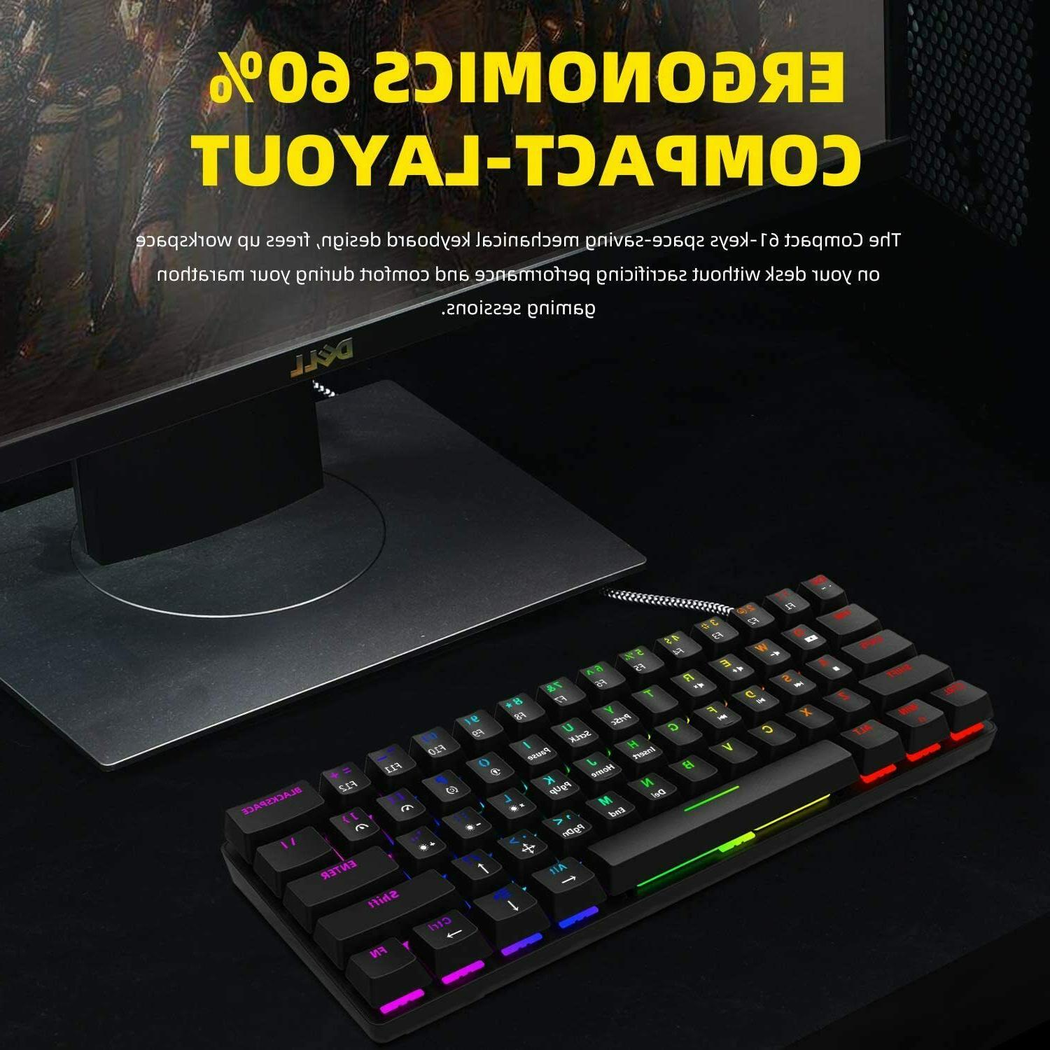 New Smart Duck 60% Gaming LEDS