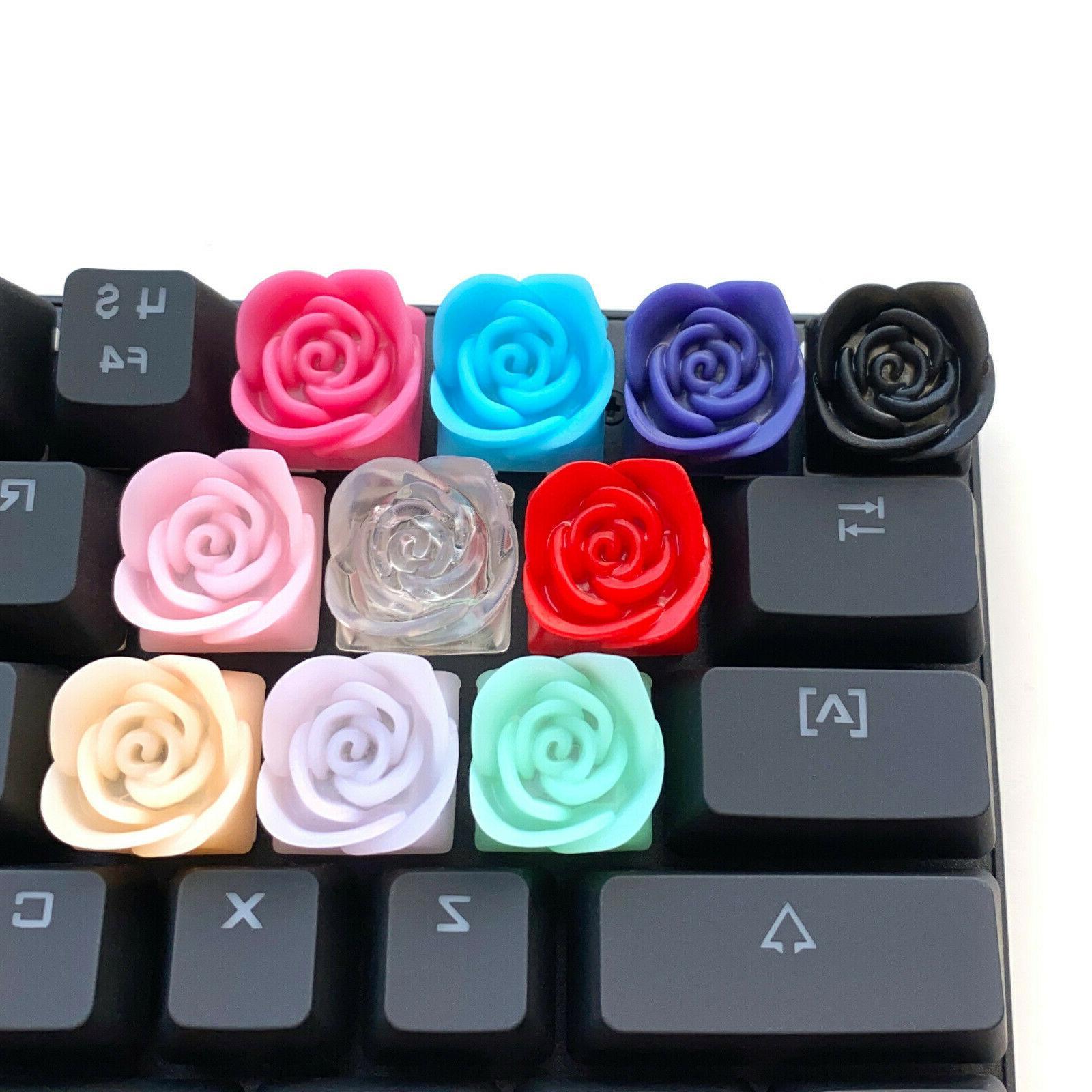 Rose Artisan Cherry MX Keyboards
