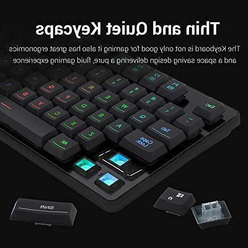 Redragon S107-BA Keyboard Mouse Feel 3200 DPI