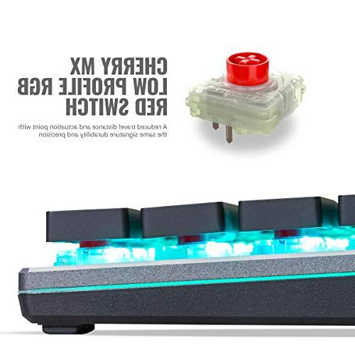 Cooler SK630 Mechanical with Cherry MX Low Profile Switches