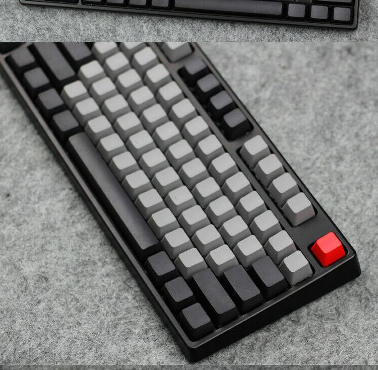 top side blank printed dolch pbt keycap