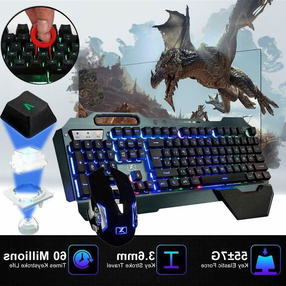 US Backlit Gaming Mice Pad