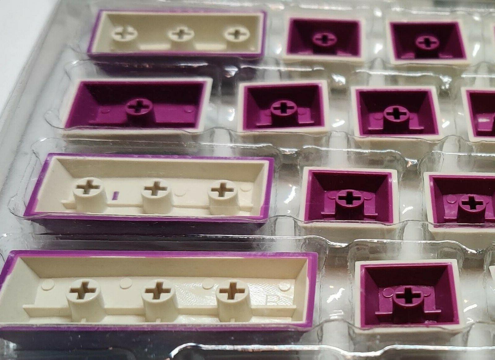Double Shot Keycaps for MX keyboards 108pcs
