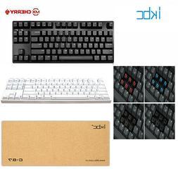 New IKBC C87 Tenkeyless Mechanical Keyboard PBT Cherry MX Sw
