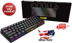 New Smart Duck XS61 60% Ultra Compact Mechanical Gaming Keyb