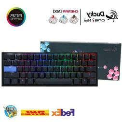Ducky One 2 Mini Mechanical Keyboard 60% PBT Double Shot w/
