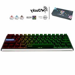Ducky One 2 Mini RGB 60% Mechanical Keyboard Double Shot PBT