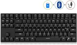 RK987 Mechanical Keyboard 87 Keys White LED Backlight Gaming