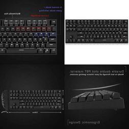 Rk987 Mechanical Keyboard 87 Keys White Led Backlight Gaming