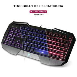 AULA SI-859 Backlit Gaming Keyboard with Adjustable Backligh